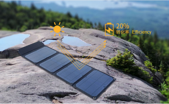 28w Solar Folding Board  Charger